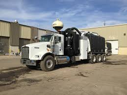 kenworth truck specs kenworth t800 with mud dog hydro excavation vacuum body