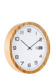 australian house u0026 garden kingston wall clock 30cm myer online