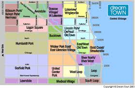 map central central chicago neighborhood guide real estate listings
