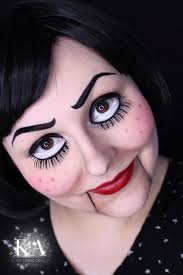 marionette halloween makeup w tutorial by katiealves deviantart