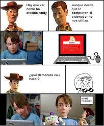 Memes De Toy Story - lo que no viste de toy story 3 www meme adictos org
