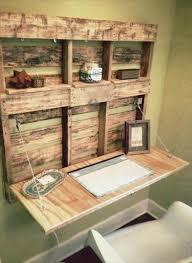 Diy Pallet Desk Diy Pallet Fold Able Desk With Shelves 101 Pallets
