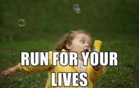 Running Memes - little girl running meme list of fat little girl running away memes