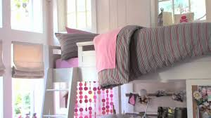 Free Plans For Dorm Loft Bed by Loft Bed Ideas For Small Rooms Pbteen Youtube