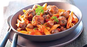 cuisiner viande pates boulettes viande chignons recette gourmand