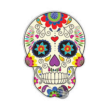 sugar skulls for sale mexican sugar skull car decal vinyl waterproof bumper