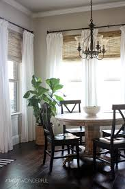 modern kitchen curtain ideas within living room picture window treatments modern dining curtains bay