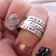 one mothers ring one s ring stacking rings s jewelry