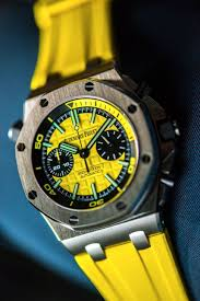 audemars piguet royal oak offshore diver chronograph watches hands