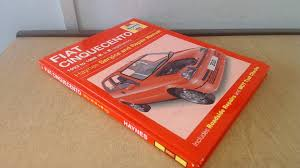 fiat cinquecento service and repair manual haynes service and