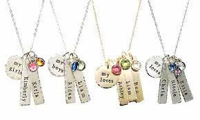 photo engraved necklace swarovski elements necklace byhannahdesign groupon