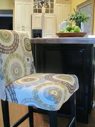 bar chair covers simple details barstool slipcover reveal