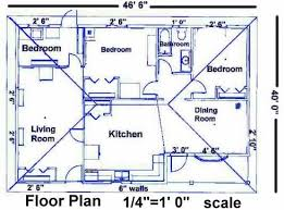 Draw A Floorplan To Scale House Blueprints