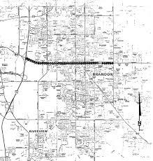 Lithia Florida Map by State Road 60 Project Development U0026 Environment Pd U0026e Study