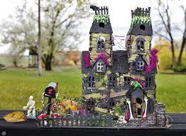juju crafts halloween village combining villiage bungalow and
