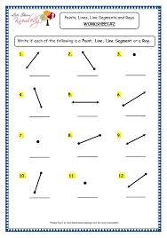 lines rays and line segments worksheets grade 3 maths worksheets 14 1 geometry points lines line