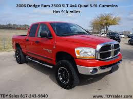 red nissan frontier lifted tdy sales 2006 dodge ram 2500 in red with 91 310 miles slt 4x4