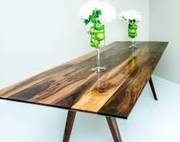 mid century walnut dining table round dining table mid century modern dining table solid
