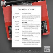 Free Creative Resume Templates For Mac Amazing Creative Resume Template Cover Letter Word Modern Simple