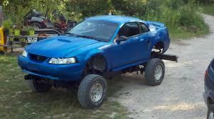 2000 blue mustang craigslist find 2000 mustang gt 4x4 edition stangtv