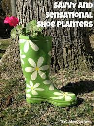 9 ways to use old shoes as planters the perfect diy