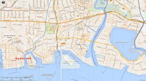 Map Of Singapore Tanjong Kling The Long And Winding Road