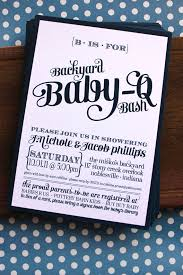 couples baby shower baby shower invitations couples baby shower bbq invitations ideas