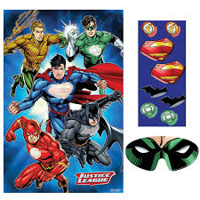 justice league party game birthdayexpress com