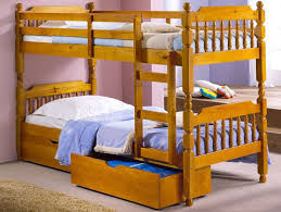 Small Single Pine Spindle Bunk Bed Ft  Small Single Bunk Beds - Small single bunk beds