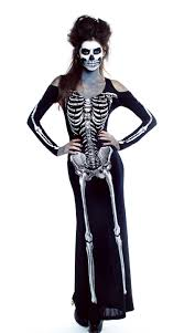 skeleton costume carnival costumes scary witch