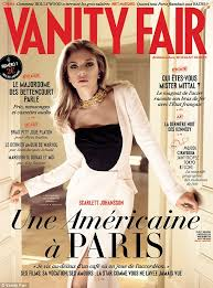 Vanity Fair Prints For Sale Scarlett Johansson Graces The Cover Of The First Issue Of French