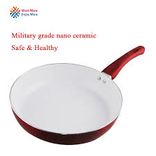 Non Stick Pan For Induction Cooktop Aliexpress Com Buy Non Stick Copper Frying Pan With Nanoscale