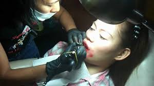 tattoo prices manila my lips tattoo by frances arbie youtube