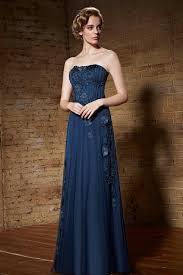 column lace chiffon dark royal blue slinky prom dress 2016 lace