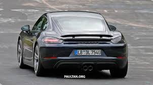 100 porsche 718 boxster and cayman gts first drive 2015