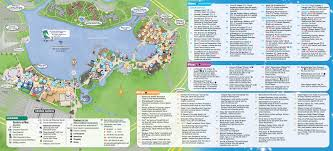 Starbucks Map Disney Springs Downtown Disney Guide Map Aug 2015 Photo 1 Of 2