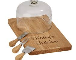 personalized cheese cutting board personalized cheese etsy