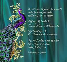 peacock wedding invitations peacock wedding invitation 15 psd jpg indesign format