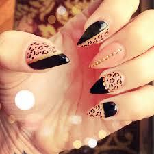 45 fearless stiletto nails cheetah nails stilettos and cheetahs