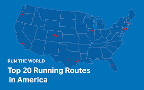Map My Ride Portland by Run The World The Top 20 Running Routes In America Mapmyrun