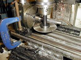 making a rotary table rotary table bracket tailstock