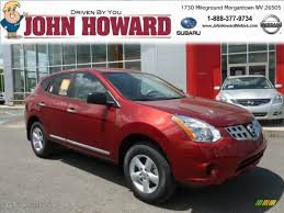 red nissan rogue 2012 cayenne red nissan rogue s special edition awd 64664487
