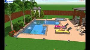 Deep Backyard Pool by Volleyball And Deep End Pool Youtube