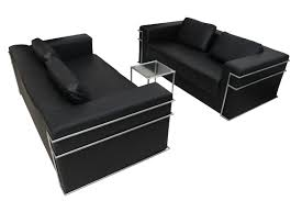 sofa schwarz sofa schwarz gebraucht kunstleder zeitlos kubische form