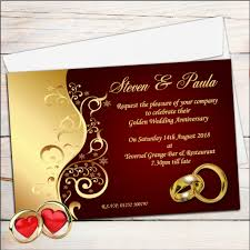 Hindu Marriage Invitation Card Wordings New Ruby Wedding Anniversary Invitation Cards 55 With Additional