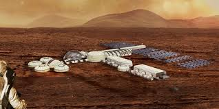 designing bases and buildings on mars with virtual reality
