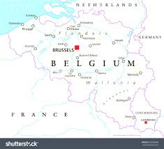 France Map With Cities by Map Of Belgium With Cities Evenakliyat Biz