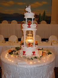 wedding cakes with fountains wedding cakes with ipunya