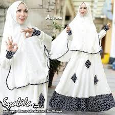 Baju Muslim Dewasa Ukuran Kecil jual baju muslim dan gamis warna putih terbaru