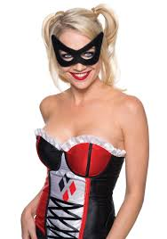 halloween city masks harley quinn mask